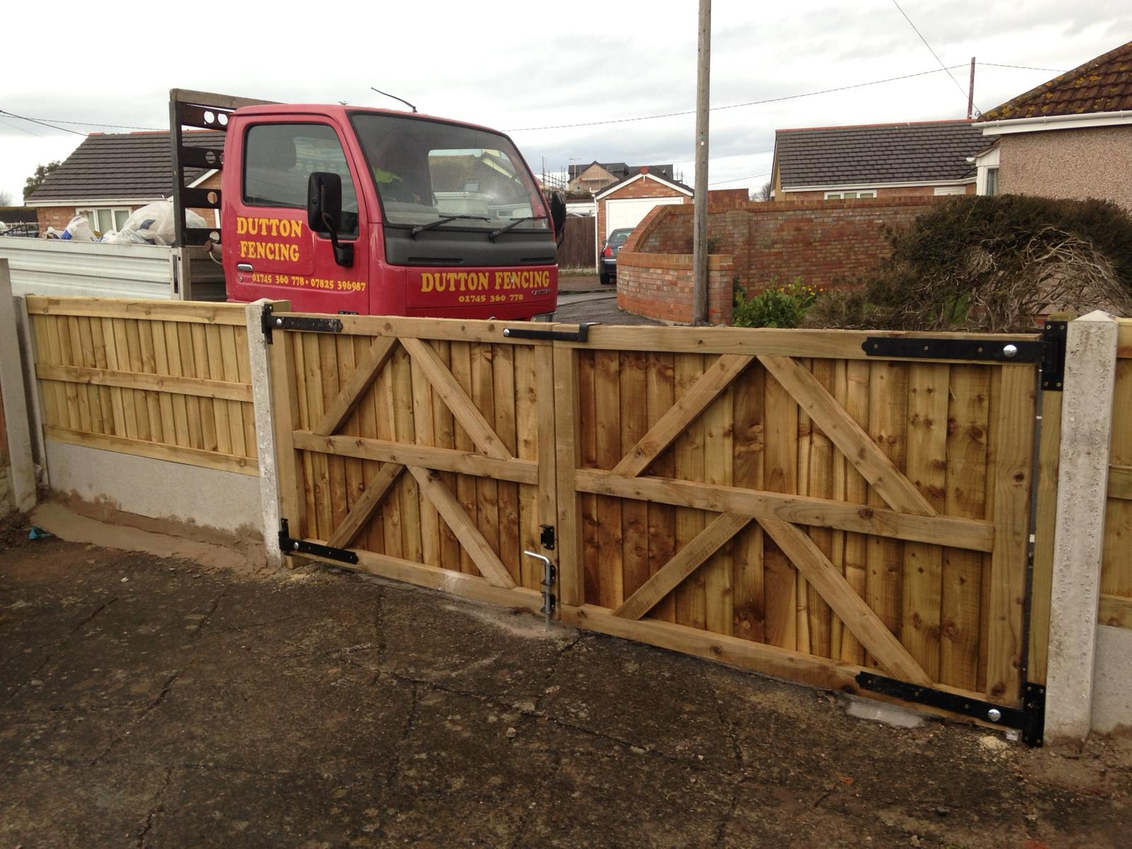 wood fence double gate. Double Wooden Gates Prestatyn, North Wales Wood Fence Gate T